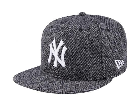 b311faab279ac New York Yankees Harris Tweed 59Fifty Fitted Baseball Cap by NEW ERA ...