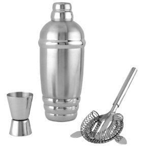 Lennox Tuscany Classics Stainless Steel Shaker Set Martini Shaker Set Martini Shaker Lenox