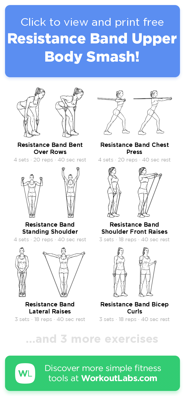 Fitness #resistance #exercises #upper resistance band exercises for arms upper … - My Blog