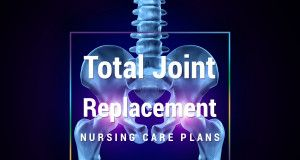 knee replacement care plan