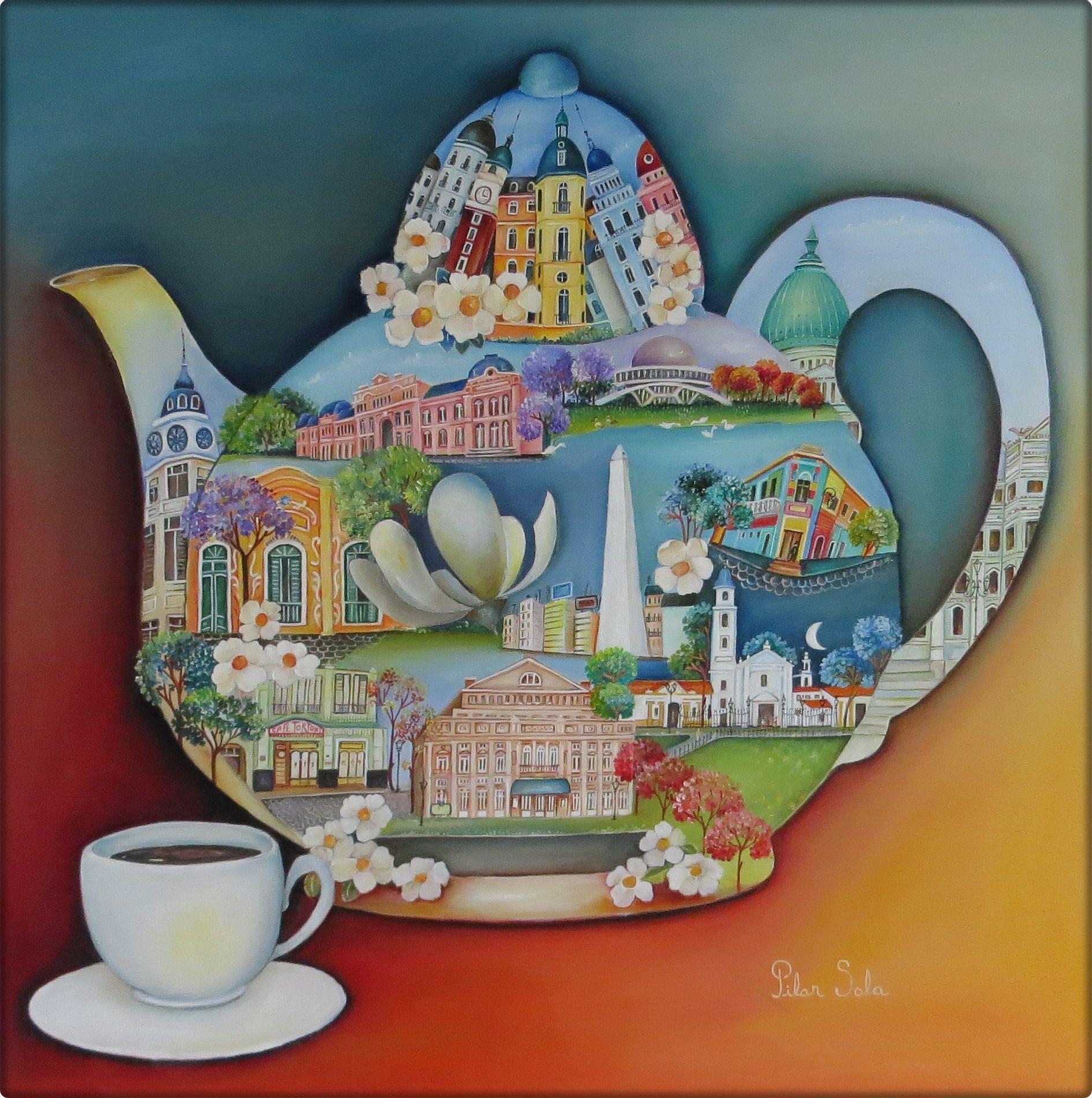 Arte naif de Pilar Sala Galeria virtual | Arte | Pinterest | Pilares ...