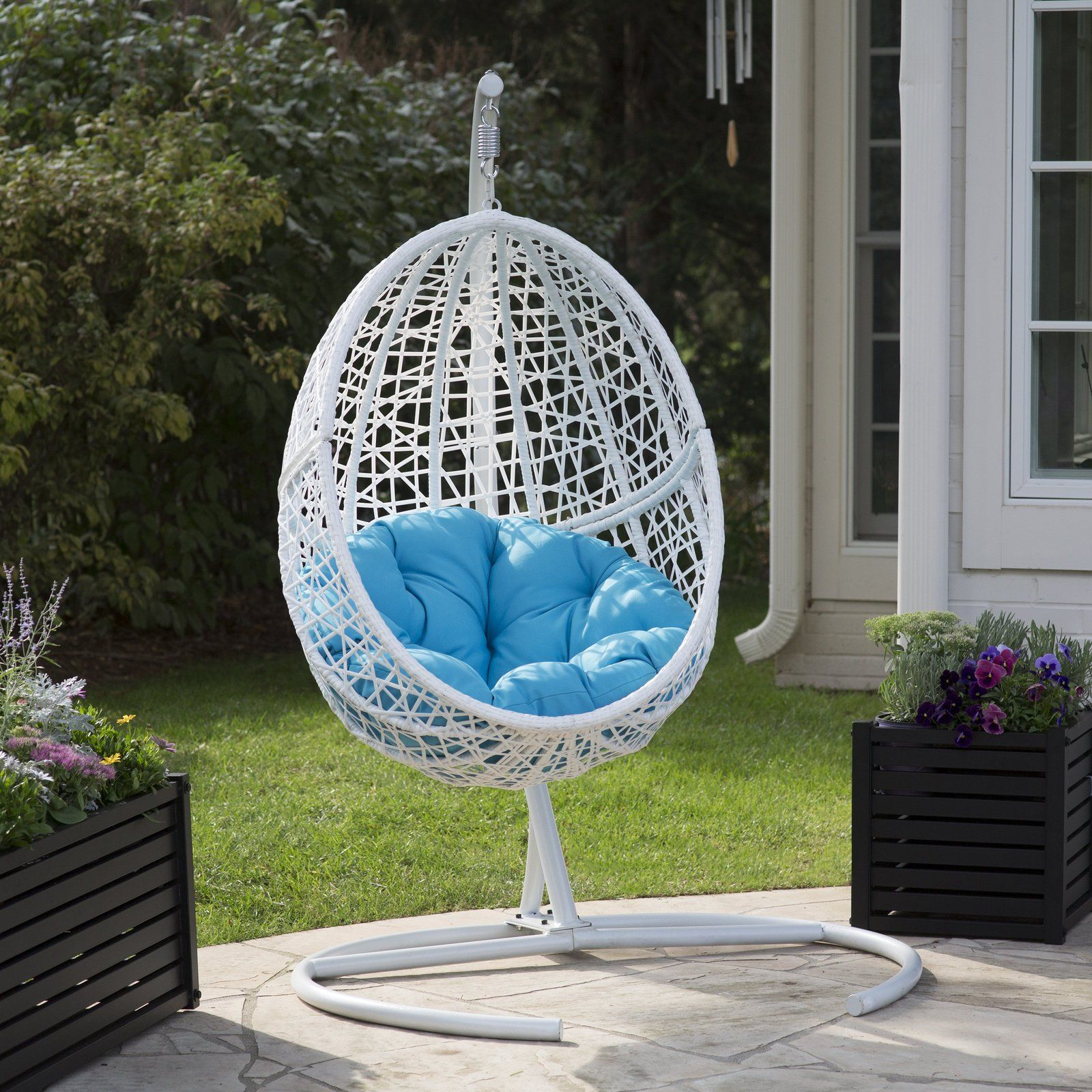 Charmant Hanging Egg Chair Swing With Cushion Forget The Hammock Use This Egg Chair  Swing To Relaxation And To Lounge Around.