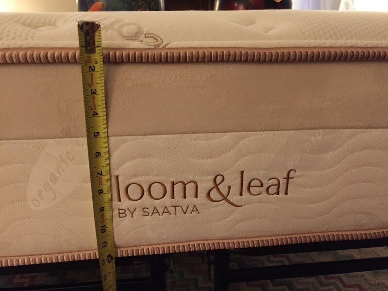 Loom And Leaf Mattress Review Soft Pillowy Coziness Mattresses Reviews Loom Mattress