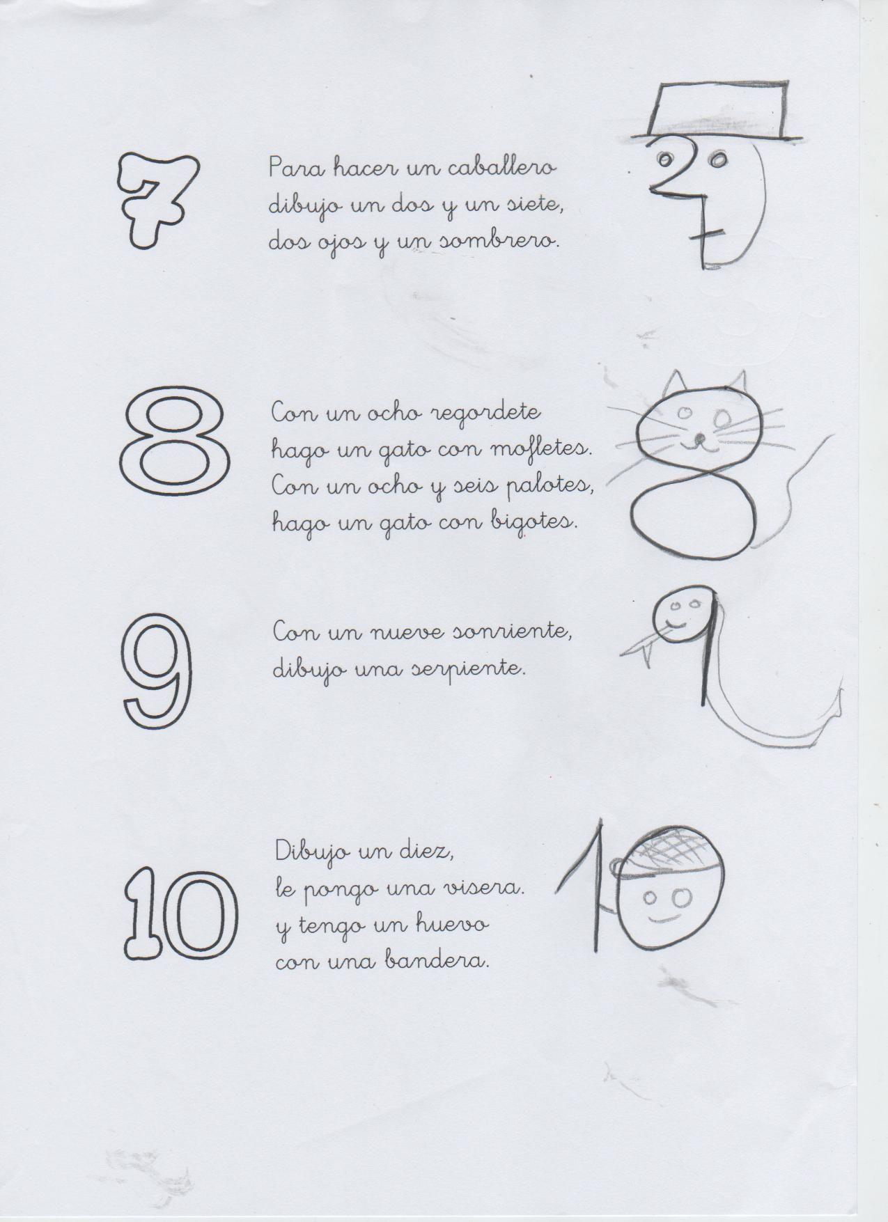Dibujamos Con Los Números 7 8 9 Y 10 Nursery Rhymes Songs Teaching