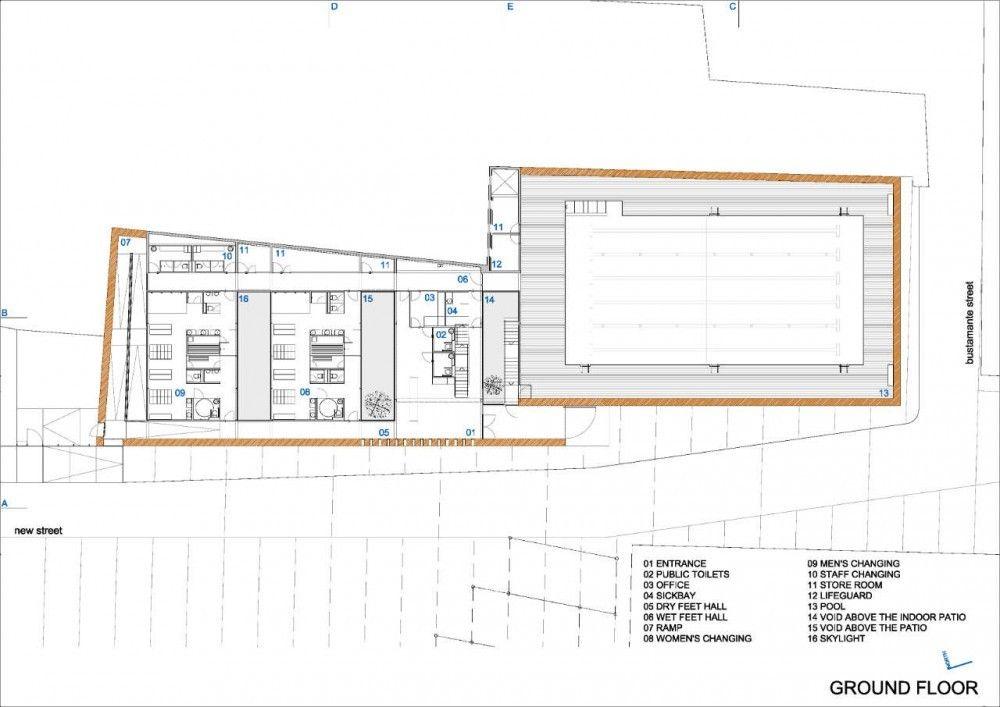 Swimming Pool Blueprints galería de piscina municipal de toro / vier arquitectos - 17