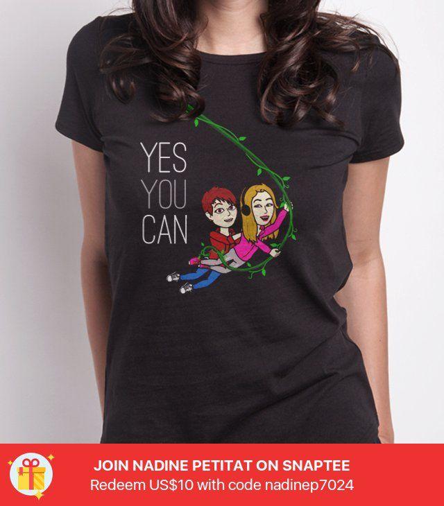 online store 0adf1 dc2ea yes you can -- Gestalte dein eigenes #Snaptee #tshirt | T ...