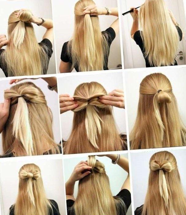 Coiffure rapide le matin cheveux mi long