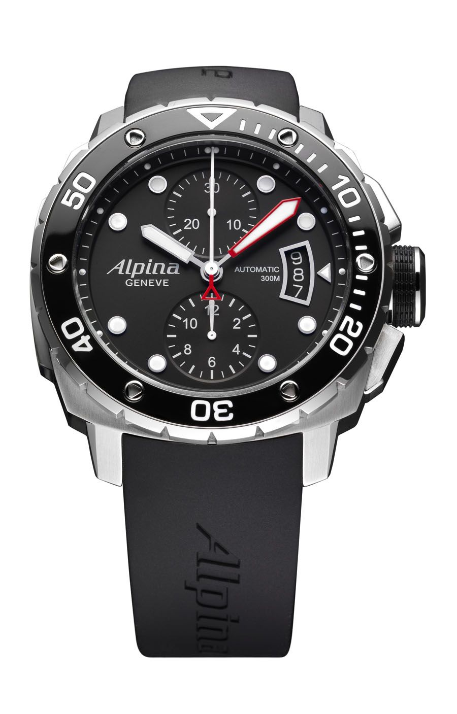Alpina: Extreme Diver 300 Automatic Chronograph   Chronograph