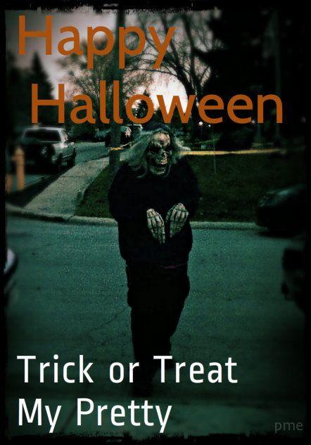 Trick or Treat My Pretty #Halloween