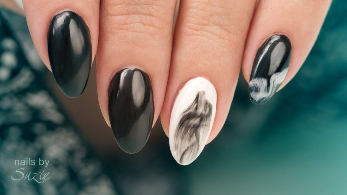 EZ Smoke Effect Gel Nail Art | Gel nail art and Beauty nails