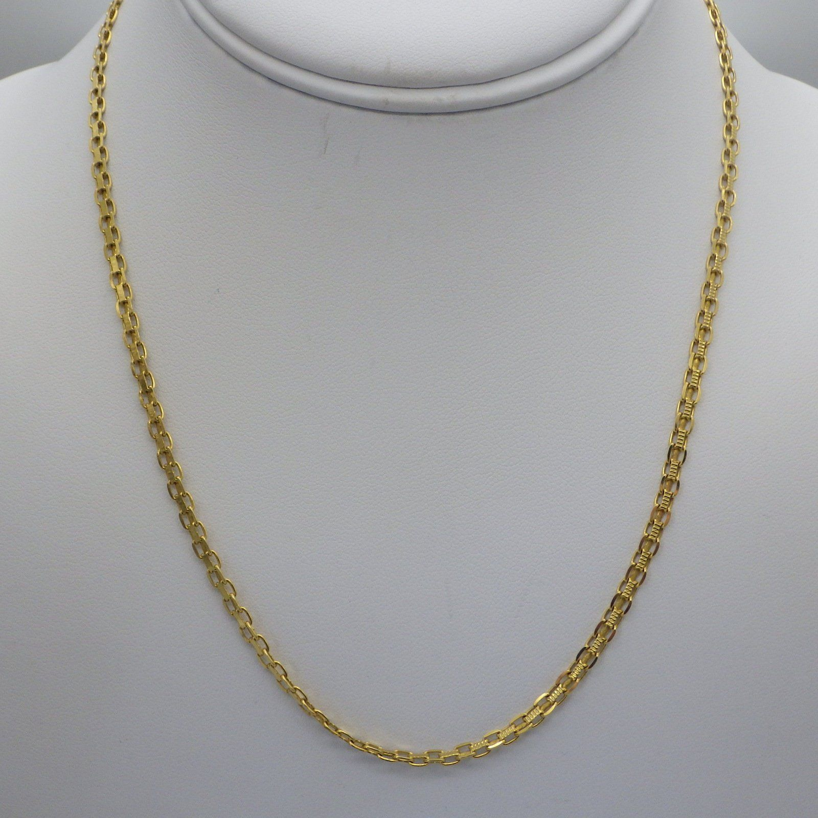 Vintage k gold necklace chain specialty chain yellow gold