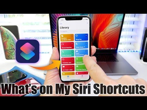 Whats on my Siri Shortcuts ? In this video i share with