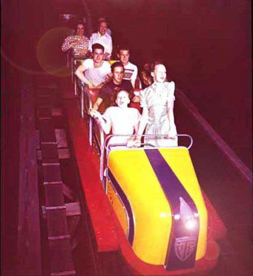 The Comet Roller Coaster St Louis Missouri St Louis Mo Amusement Park Rides