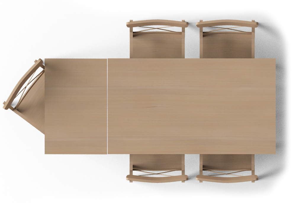 Leksvik Dining Table Top Top View Furnitures In 2019
