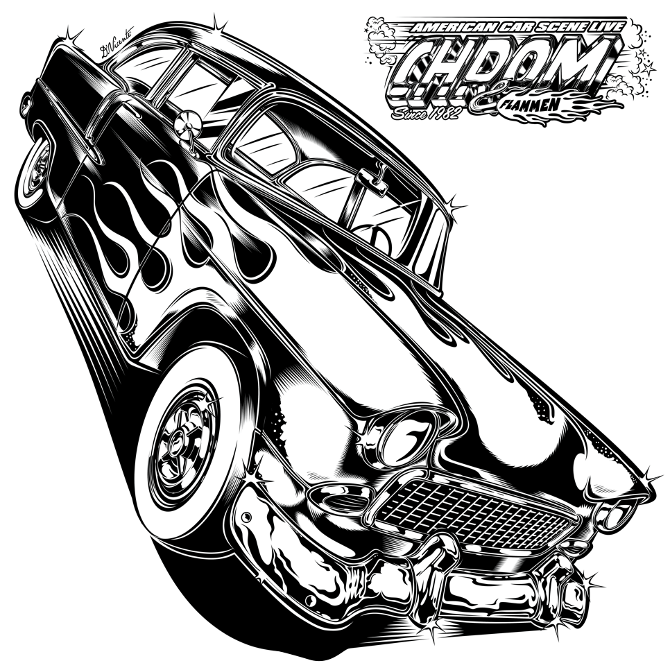 1955 chevy hot rods