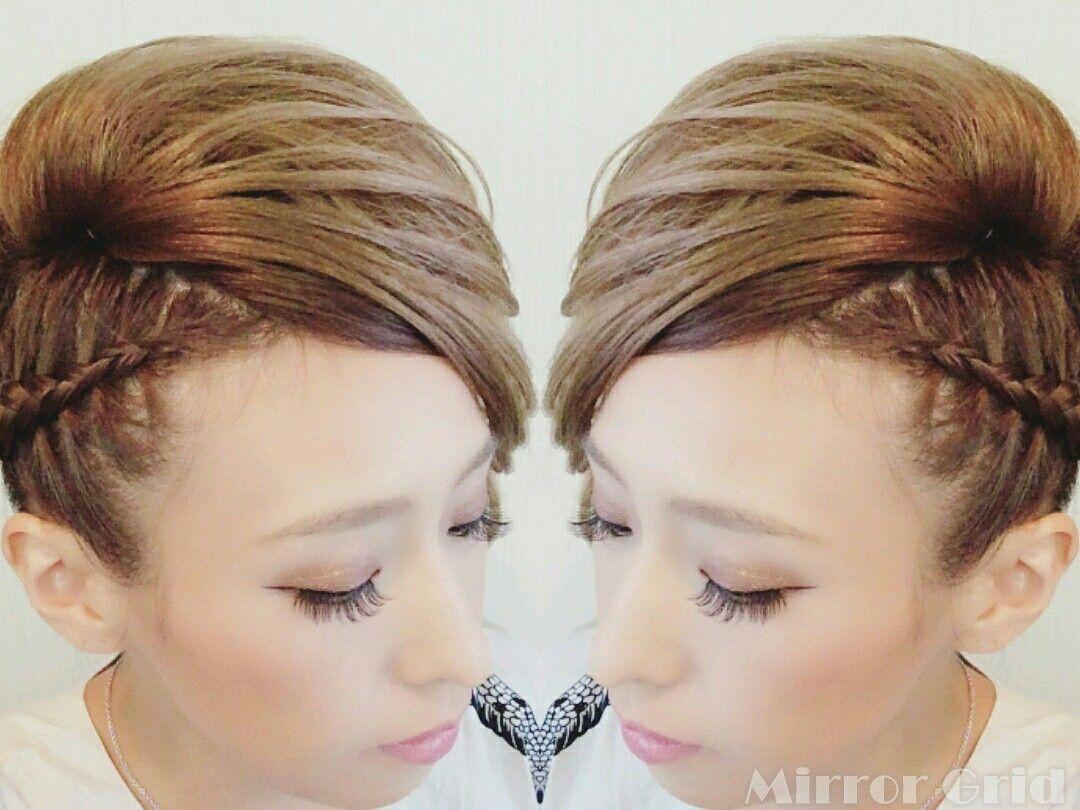 潮来祭り お祭り ヘアセット hairstyle hairset 夏 和髪