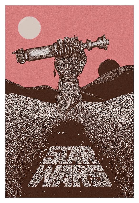 Star Wars Episode VII poster by MessyPandas