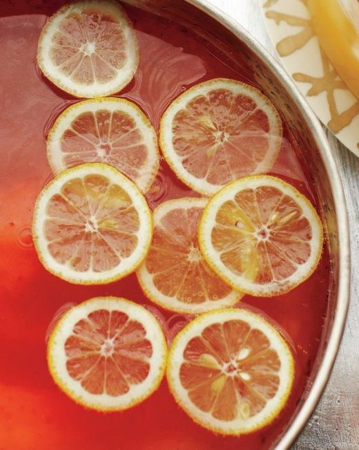 Elderflower-Champagne Punch Recipe