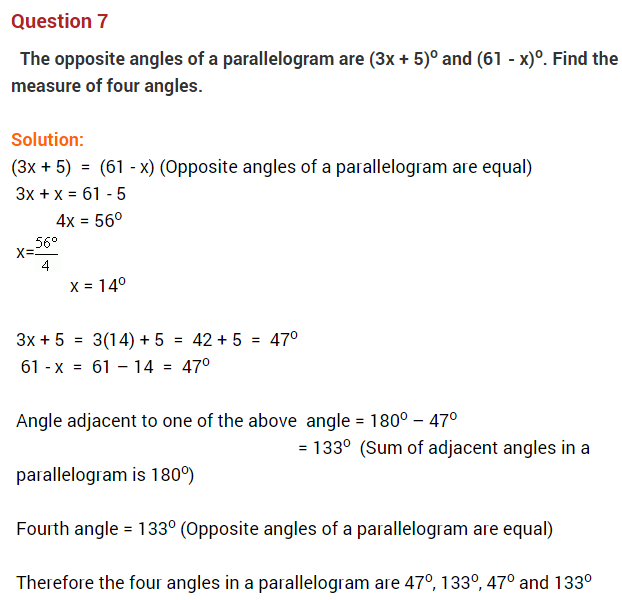 Understanding Quadrilaterals Ncert Extra Questions For Class 8 Maths Math This Or That Questions Word Problems
