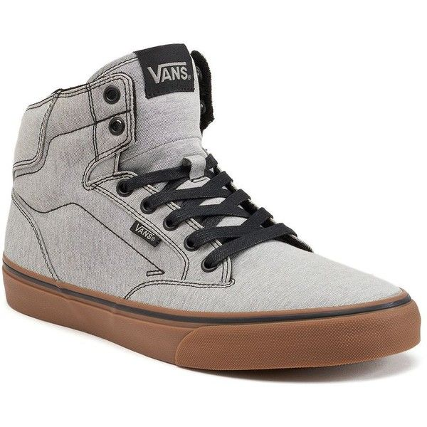 vans grey high tops mens