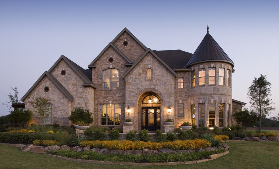 Terracina At Flower Mound Luxury New Homes In Flower Mound Tx Luxury Homes Exterior House Designs Exterior Modern Castle