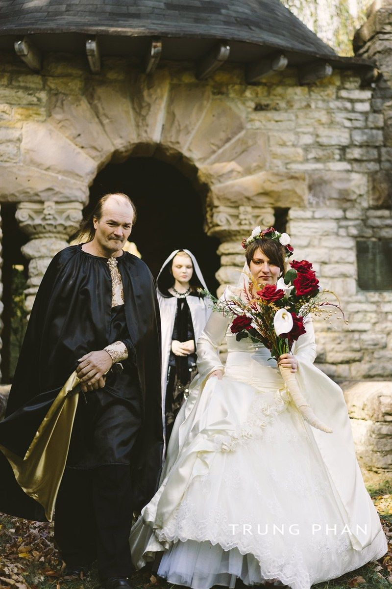 Raise A Battle Cry For This Epic Nordic Viking Wedding Viking - Viking Wedding Dress