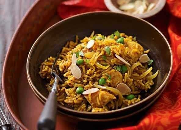 Chicken biryani image curry and indian food pinterest biryani simple all in one suppers dont get much tastier than this easy indian inspired dish thats bursting with fragrant spices forumfinder Images