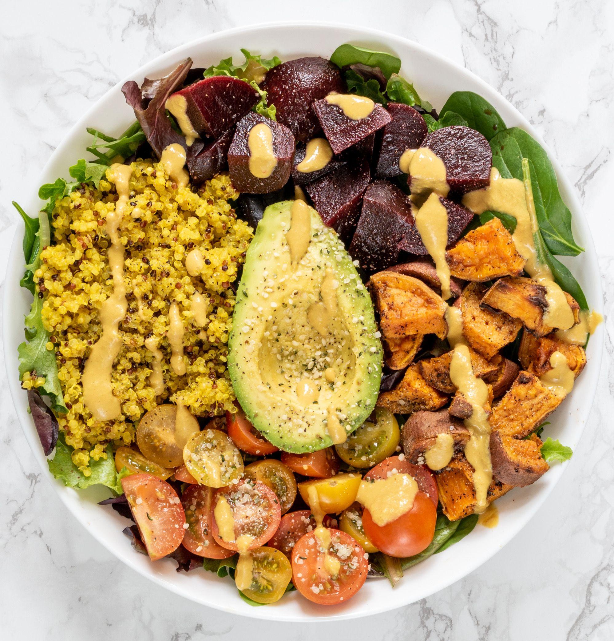 Vegan Power Bowl Gluten Free Oil Free Healthygirl Kitchen Recipe In 2020 Yummy Pasta Recipes Vegan Gluten Free Veggie Bowl
