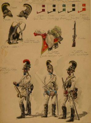 NAP- Austria: Austrian Cuirassiers 1810-15, by Louis de Beaufort.