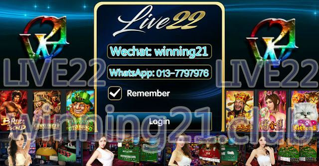 WINNING21 Live22 - The Best Online Slot Games In Malaysia Singapore