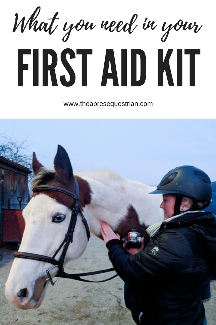 Everything You Need For A Well Equipped Equine First Aid Kit Trust Me I Use Mine Often The Apres Equestrian Www Horse Health Horse Care Pet Training