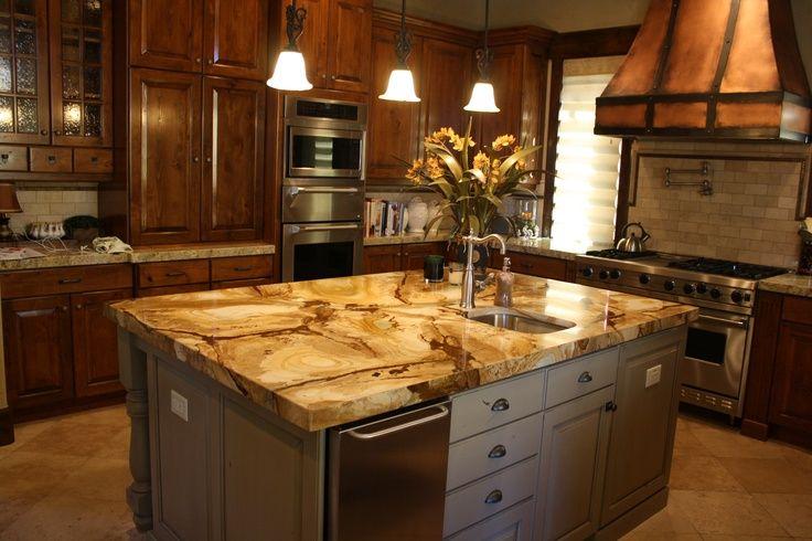Stone Petrified Wood Quartzite For The Kitchen Pinterest