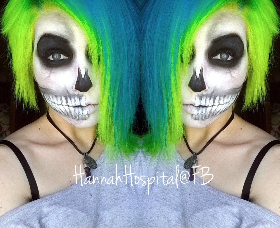 How to do Skeleton make up HALLOWEEN!! Makeup, Up