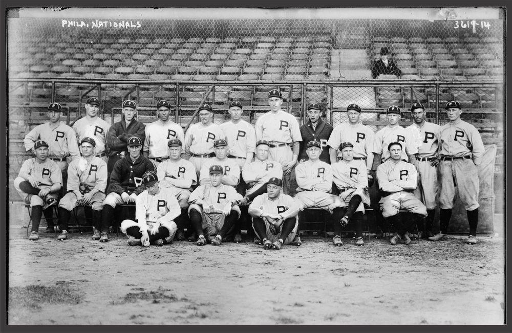 "1915 Philadelphia Phillies, 20""x14"" Team Photo, BASEBALL"