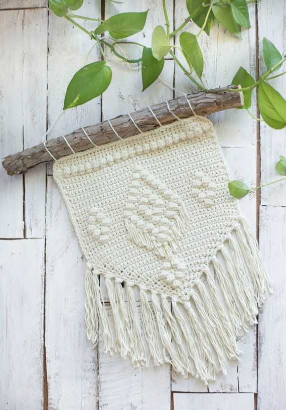 Pdf Crochet Pattern For The Bohemian Wall Hanging Products
