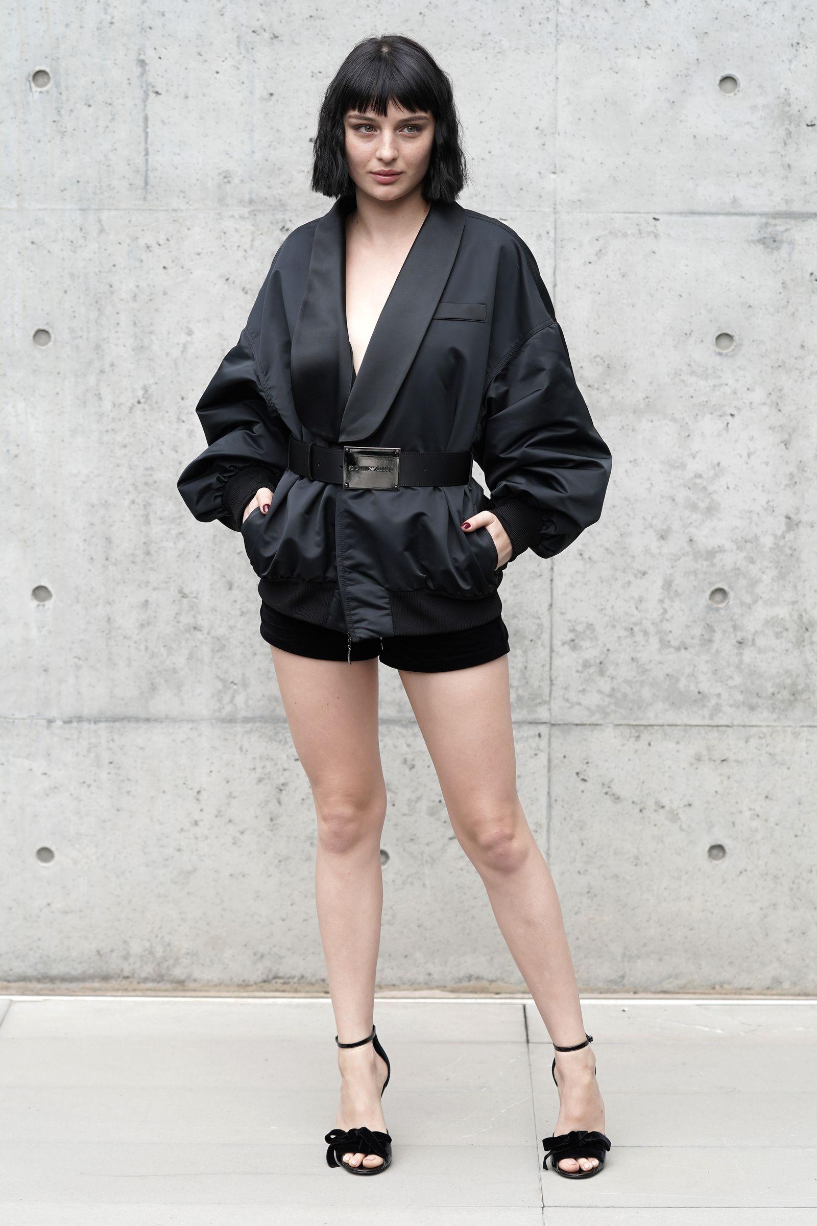 Alice Pagani di Baby è diventata grande, e con il suo vestito è stata tra le donne più eleganti della MFW