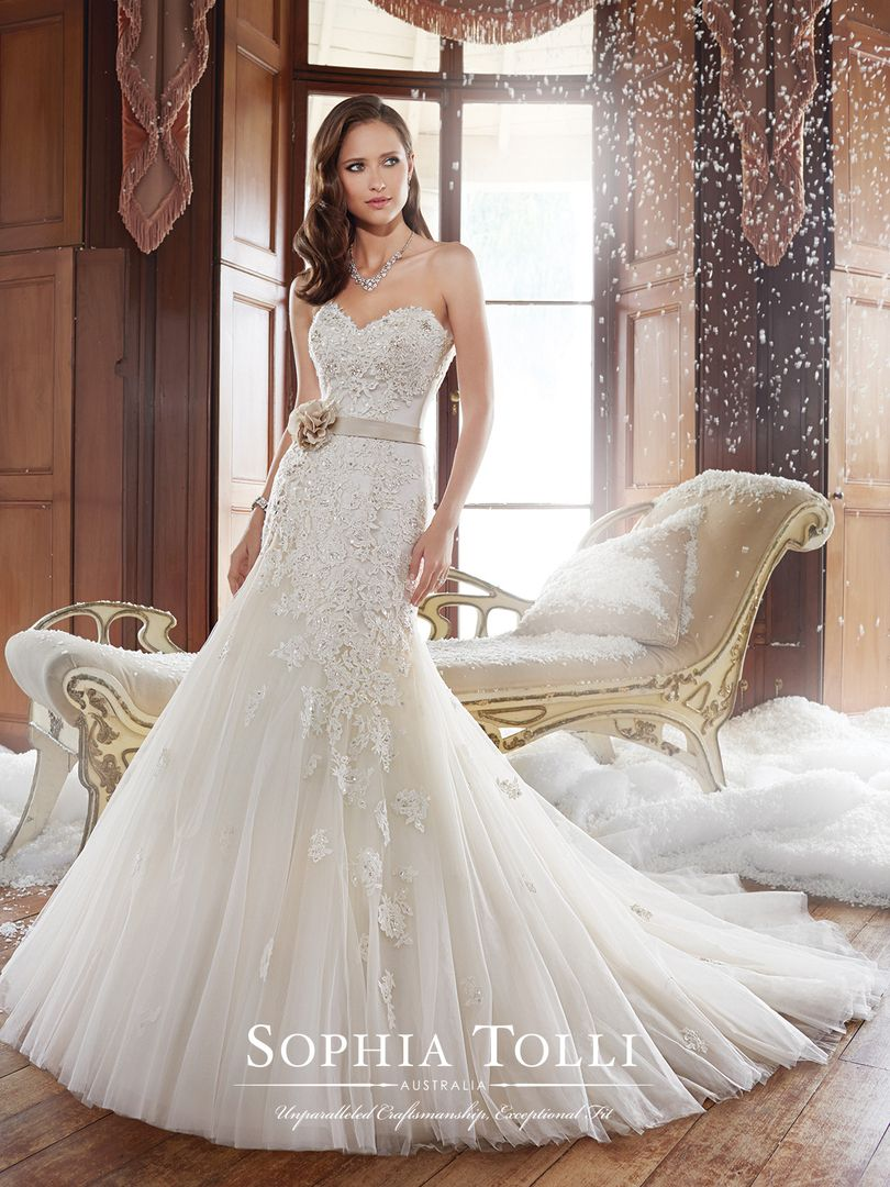 Jillian by Sophia Tolli Available at Sincerely, The Bride Vancouver ...