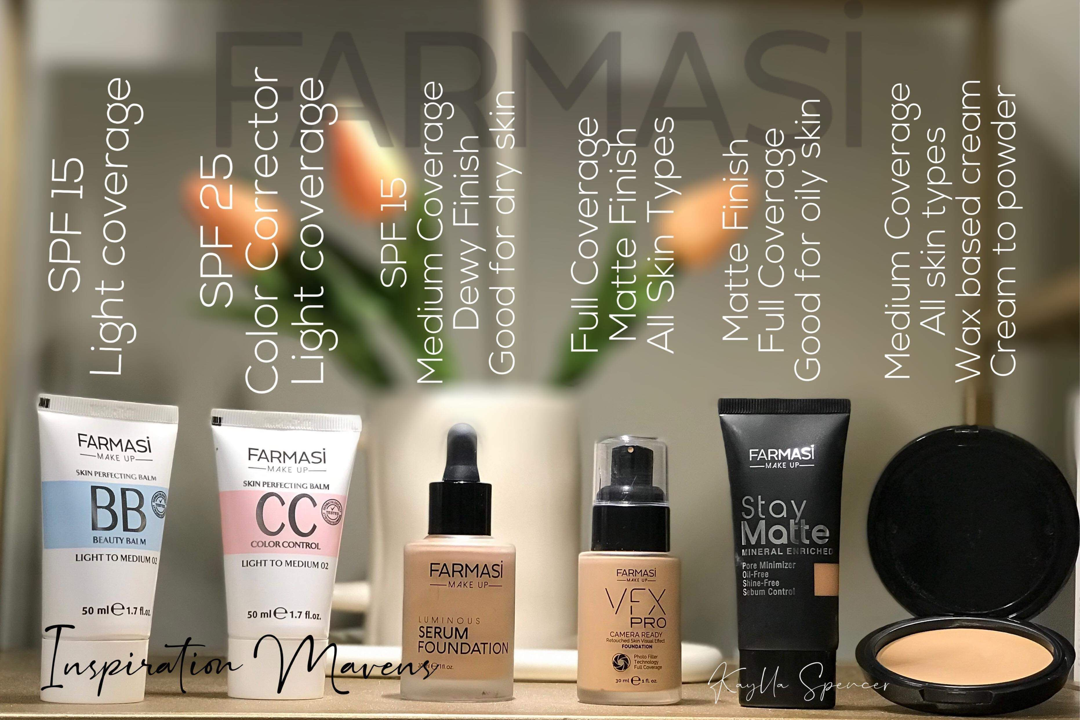Farmasi Foundations farmasi farmasicosmetics