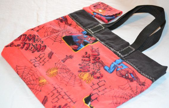 Library Book Bag With Matching Wallet by LisasHeavenlyDesigns, $25.00
