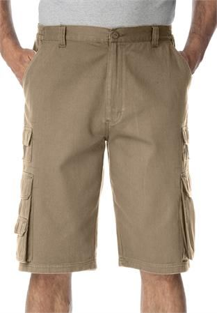Big and Tall Ranger Side Elastic Cargo Short