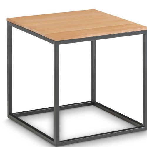 Mercury Row Dinah Side Table Side Table With Storage Cube Side Table Round Side Table