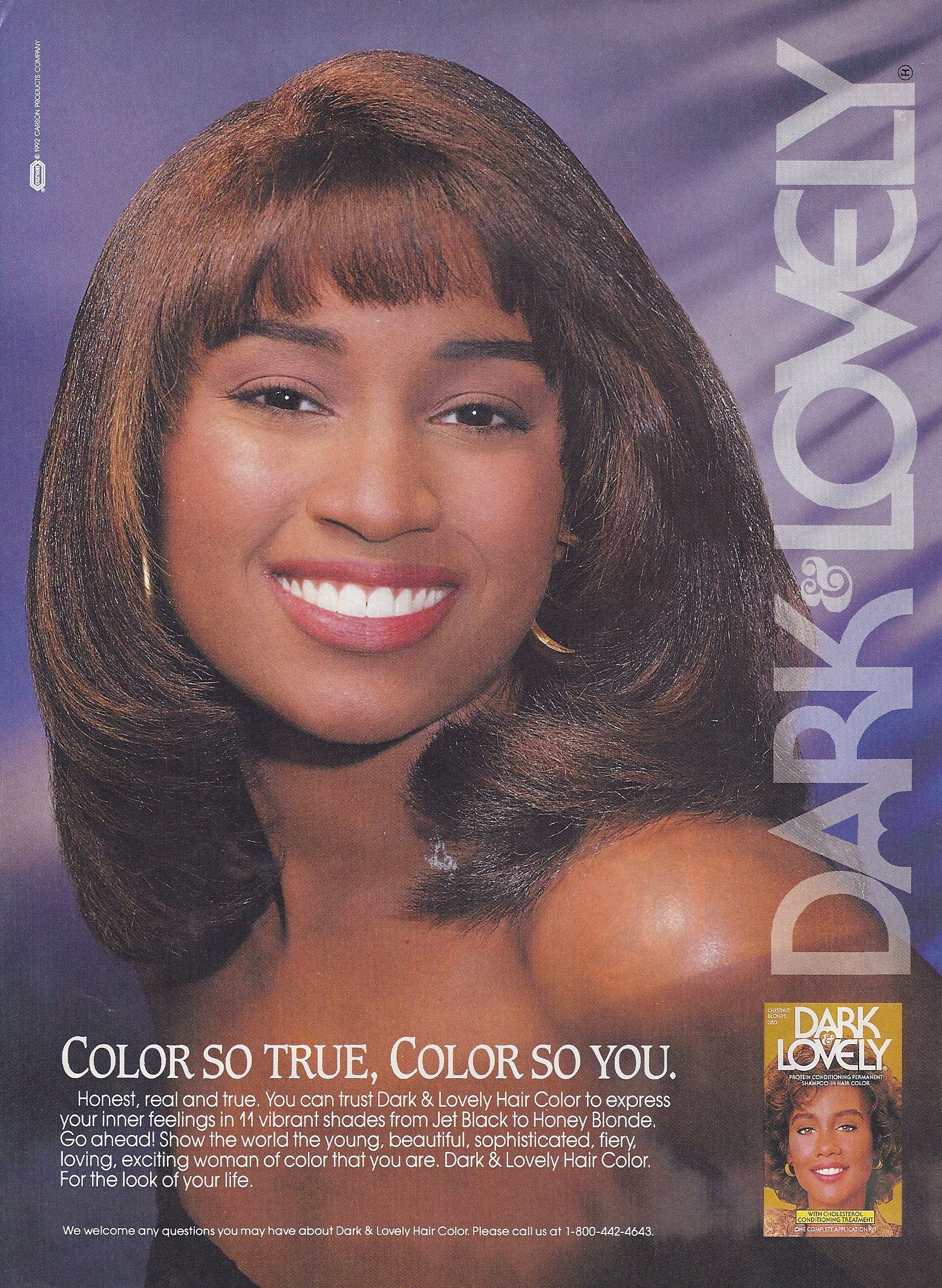 Dark Lovely Hair Ad I Want My Hair To Look Like This Sooo Bad Back In The Day Beauty Ad Black Beauties Vintage Cosmetics
