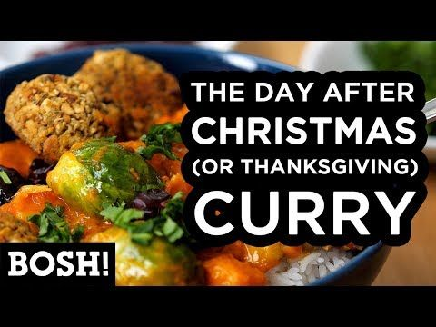 104 The Day After Christmas Or Thanksgiving Curry Bosh