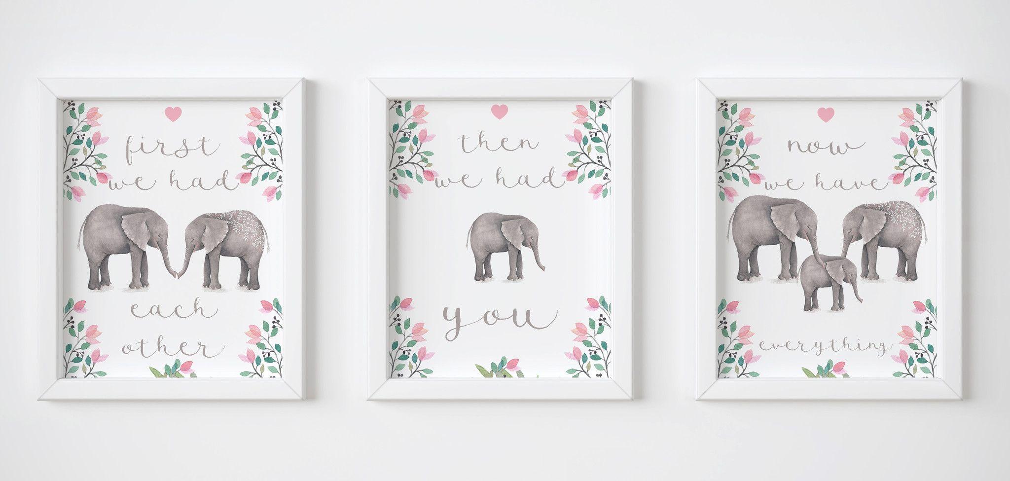 Each Other Trio Elephants