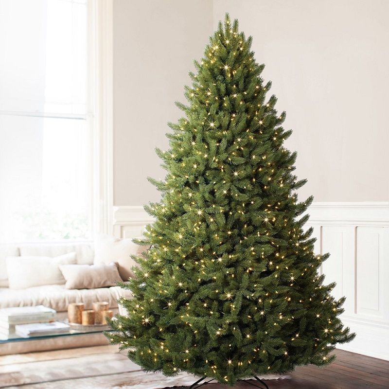 Vermont White Spruce Premium Artificial Christmas Tree - Gorgeous tree  sizes up to 12ft. - Top 8 Best High End Artificial Christmas Trees 2018