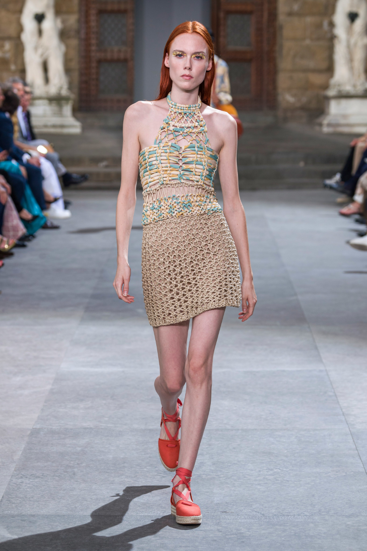 Image result for ss20 crochet top salvatore ferragamo