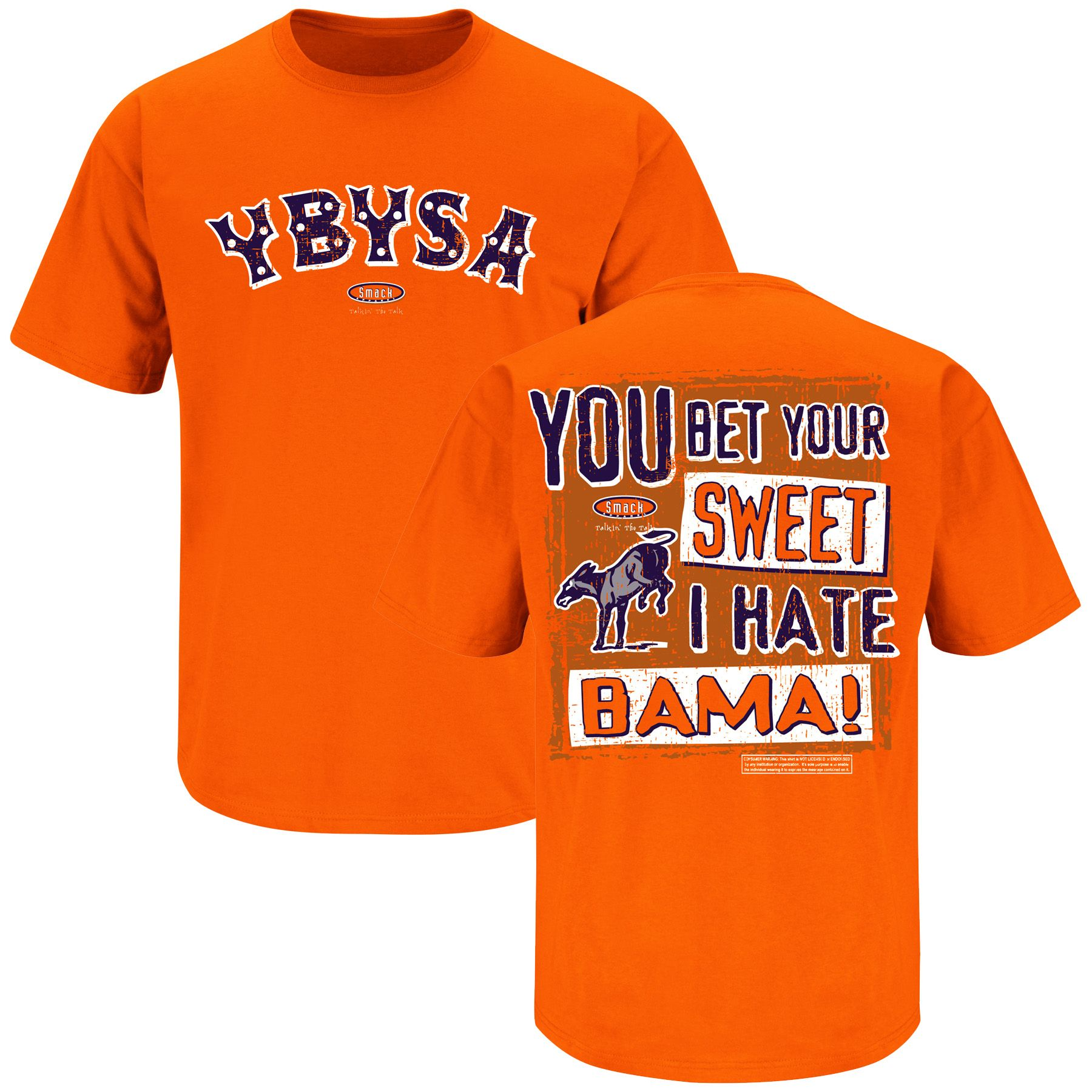 You Bet Your Sweet Ass I Hate Bama Auburn Funny T