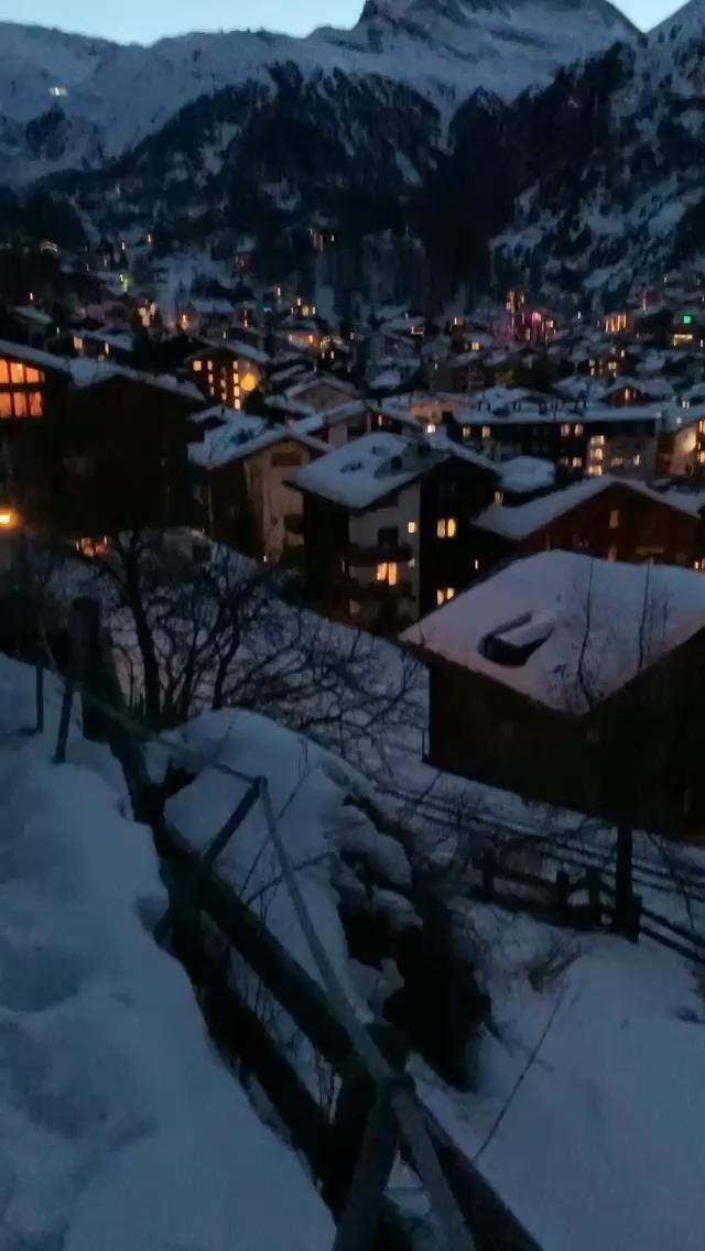 Good night, Zermatt!
