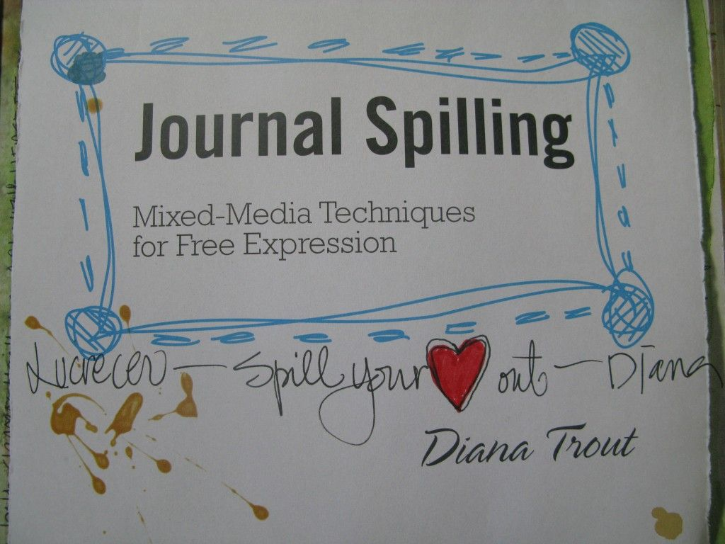 Journal Spilling **A Book Review**