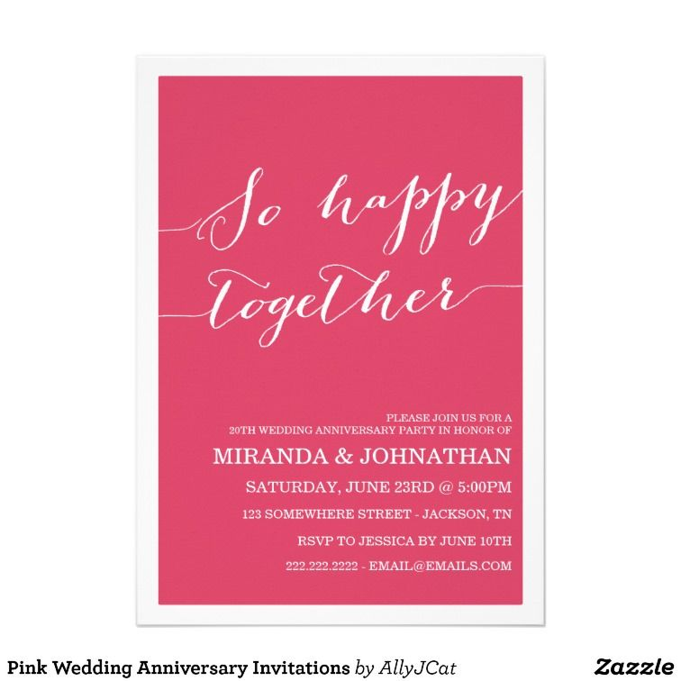 Pink wedding invitation | Ideas - Pink Wedding | Pinterest ...